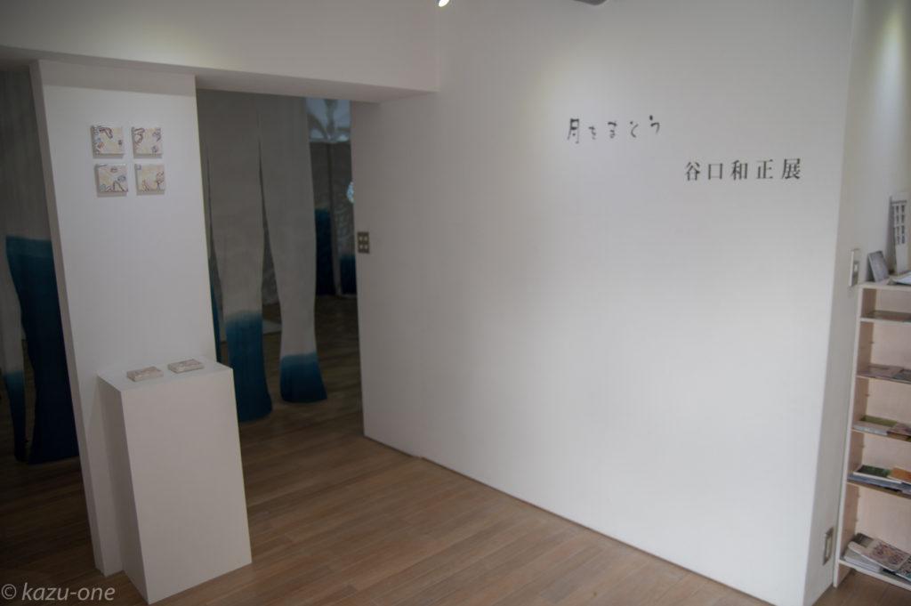 2018 Gallery wks. 「月をまとう」